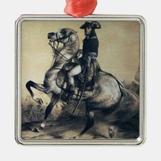Napoleon Bonaparte Metal Ornament