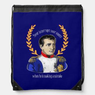Napoleon Bonaparte - Never Interrupt Your Enemy Backpack