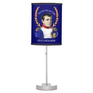 Napoleon Bonaparte - Never Interrupt Your Enemy Table Lamp