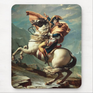Napoleon Bonaparte on Horseback Mouse Pad