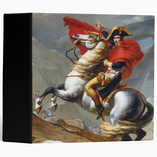 Napoleon Bonaparte Painting by Jacques-Louis David Binder