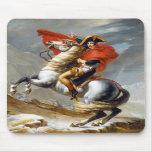 Napoleon Bonaparte Painting by Jacques-Louis David Mousepads