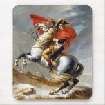 Napoleon Bonaparte Painting by Jacques-Louis David Mouse Pad