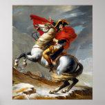 Napoleon Bonaparte Painting by Jacques-Louis David Poster