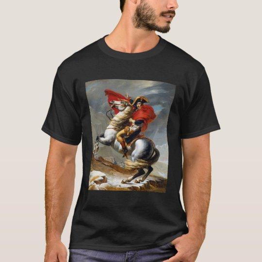 Napoleon Bonaparte Painting by Jacques-Louis David T-Shirt