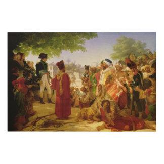 Napoleon Bonaparte Pardoning los rebeldes Cuadros De Madera
