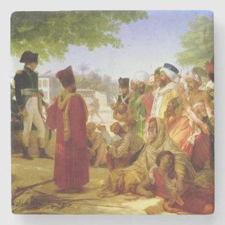 Napoleon Bonaparte Pardoning los rebeldes Posavasos De Piedra