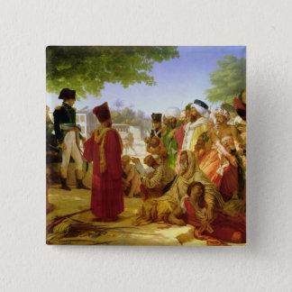 Napoleon Bonaparte  Pardoning the Rebels Pinback Button
