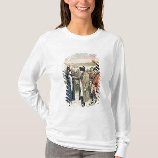 Napoleon Bonaparte  presenting the female T-Shirt