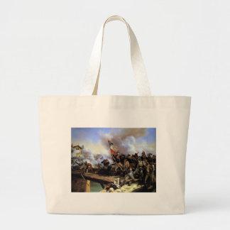 Napoleon Bonaparte que lleva a sus tropas Bolsa Tela Grande