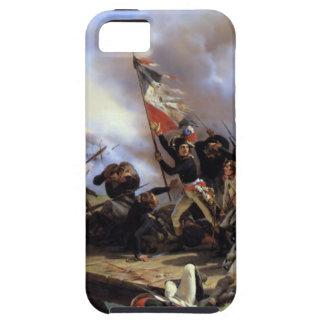 Napoleon Bonaparte que lleva a sus tropas Funda Para iPhone SE/5/5s