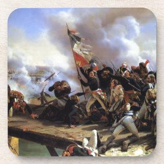 Napoleon Bonaparte que lleva a sus tropas Posavasos De Bebidas
