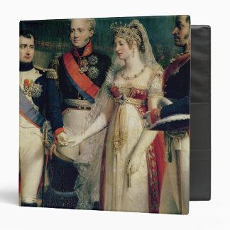Napoleon Bonaparte  Receiving Queen Louisa Binder