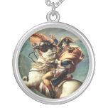 Napoleon Bonaparte Round Pendant Necklace