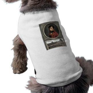 Napoleon Bonaparte -- Troop Review Dog Tee Shirt