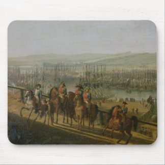 Napoleon Bonaparte  Visiting the Camp at Mouse Pad