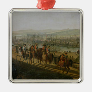 Napoleon Bonaparte  Visiting the Camp at Christmas Ornaments