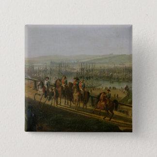 Napoleon Bonaparte  Visiting the Camp at Pinback Button