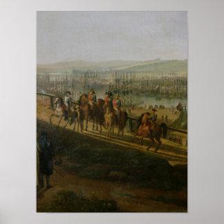 Napoleon Bonaparte  Visiting the Camp at Poster