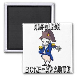 Napoleon Bone-aparte 2 Inch Square Magnet