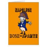 Napoleon Bone-aparte Greeting Cards