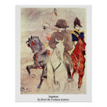 Napoleon By Henri De Toulouse-Lautrec Poster