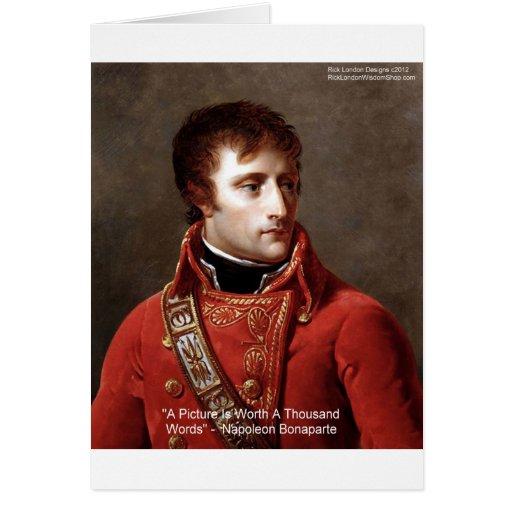 """Napoleon camisetas de """"1000 palabras"""", tazas, tarj"""