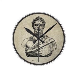 Napoleon como César Relojes De Pared
