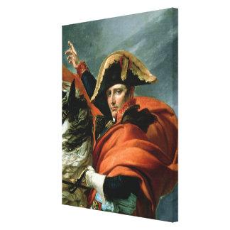 Napoleon  Crossing the Alps 2 Canvas Print
