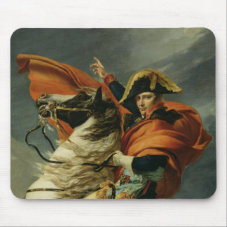 Napoleon  Crossing the Alps 2 Mouse Pad