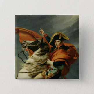 Napoleon  Crossing the Alps 2 Pinback Button