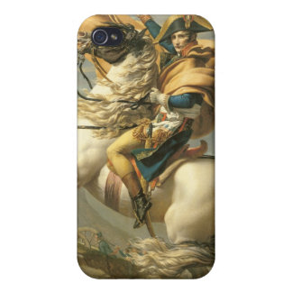 Napoleon  Crossing the Alps at the St Bernard Case For iPhone 4