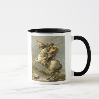 Napoleon  Crossing the Alps at the St Bernard Mug