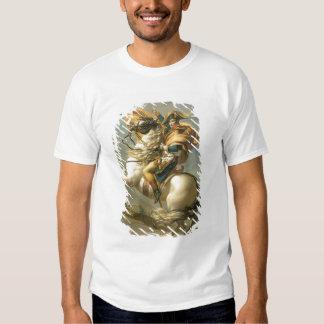 Napoleon  Crossing the Alps at the St Bernard T-Shirt