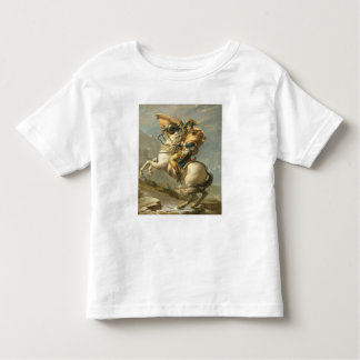 Napoleon  Crossing the Alps at the St Bernard Toddler T-shirt