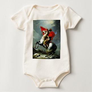Napoleon Crossing the Alps Baby Bodysuit