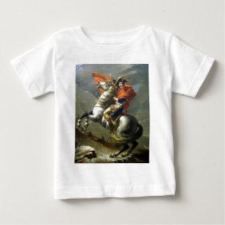 Napoleon crossing the alps baby T-Shirt