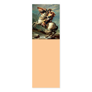 Napoleon Crossing the Alps Double-Sided Mini Business Cards (Pack Of 20)
