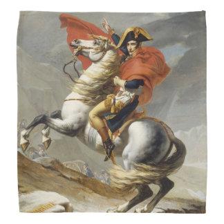 Napoleon Crossing the Alps by Jacques Louis David Bandana