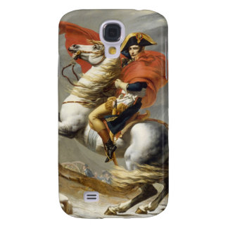 Napoleon Crossing the Alps by Jacques Louis David Samsung Galaxy S4 Cover