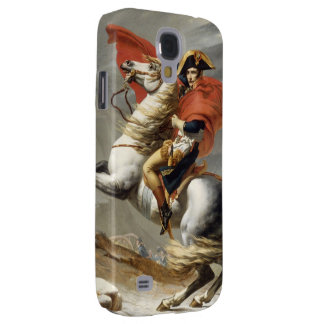 Napoleon Crossing the Alps by Jacques Louis David Samsung Galaxy S4 Covers