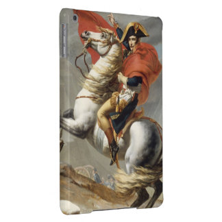 Napoleon Crossing the Alps by Jacques Louis David iPad Air Cover