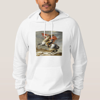 Napoleon Crossing the Alps by Jacques Louis David Hoodie