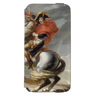 Napoleon Crossing the Alps by Jacques Louis David iPhone 6/6s Wallet Case
