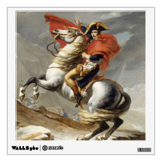 Napoleon Crossing the Alps by Jacques Louis David Wall Sticker