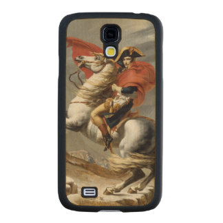 Napoleon Crossing the Alps by Jacques Louis David Carved® Maple Galaxy S4 Case