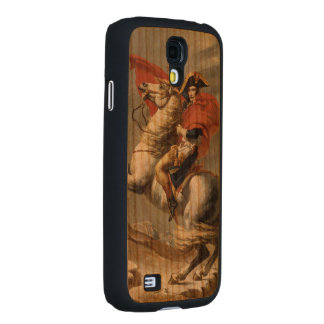 Napoleon Crossing the Alps by Jacques Louis David Carved® Cherry Galaxy S4 Slim Case