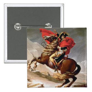 Napoleon Crossing the Alps, c.1800 (oil on canvas) Button