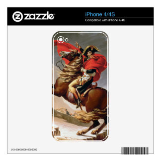 Napoleon Crossing the Alps, c.1800 (oil on canvas) iPhone 4S Skin
