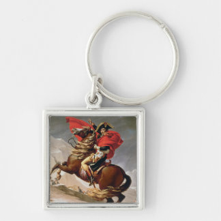 Napoleon Crossing the Alps, c.1800 (oil on canvas) Keychain